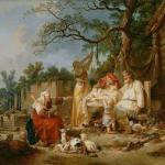 Подвесная люлька - доказательство мудрости предков.